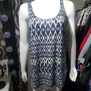 Size L maurices diamond pattern tank top